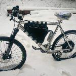 Тунингован 1000 ватов велосипед с голям пробег